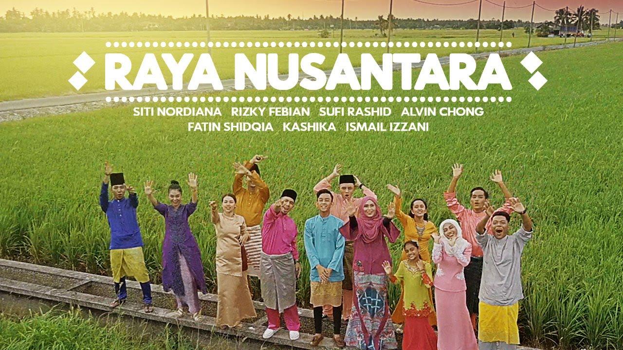 Siti Nordiana, Rizky Febian, Sufi Rashid, Alvin Chong, Fatin Shidqia, Kashika & Ismail Izzani - Raya Nusantara