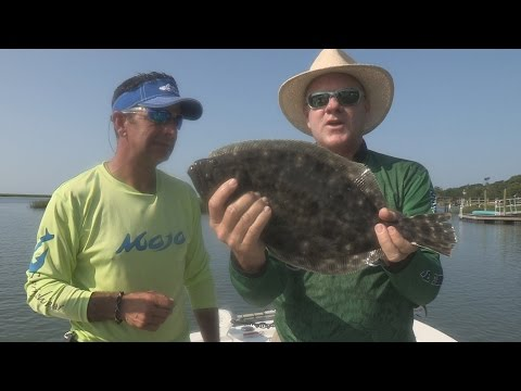 Fox Sports Outdoors SOUTHWEST #31 - 2014 Murrell's Inlet, South Carolina Flounder Fishing