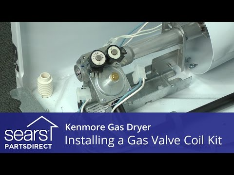 How to Install a Kenmore Dryer Gas Valve Coil Kit