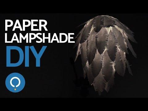 DIY Easy Paper Lampshade