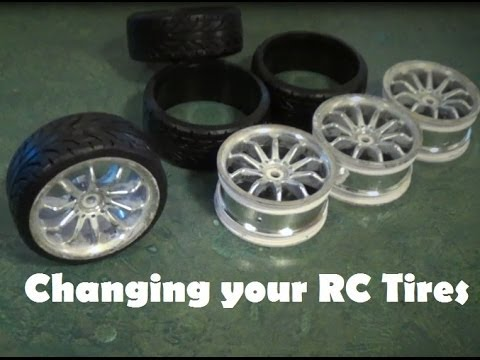 RCCM TIP - Changing your RC Tires