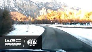 """WRC - Rallye Monte-Carlo 2017: ONBOARD Latvala """"Shakedown"""""""