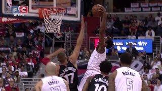 John Wall Dunks on Jonas Valanciunas | Raptors vs Wizards - Game 4 | 2018 NBA Playoffs