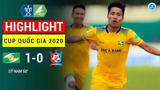 Highlight | Sông Lam Nghệ An - Bình Định | Cup Quốc Gia 2020 | Siêu Phẩm Của Sỹ Nam Tại Sân Vinh