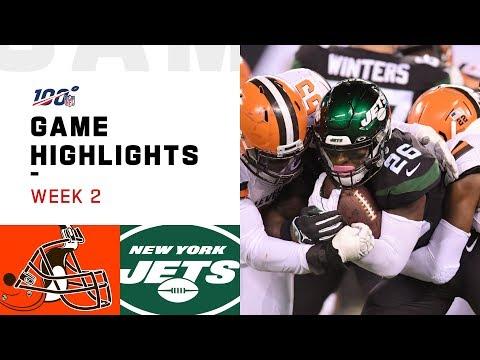 Browns vs. Jets Week 2 Highlights   NFL 2019