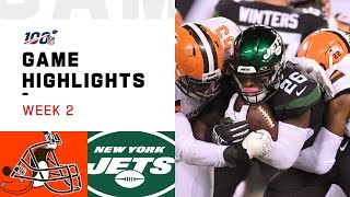 Browns vs. Jets Week 2 Highlights | NFL 2019