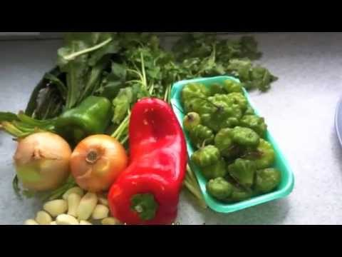 How to make Sofrito, Puerto Rican Must Have