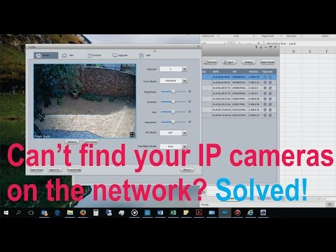 How to use Smart Config Tool to locate a Dahua IP camera on a network