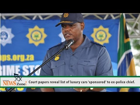 Court papers reveal list of luxury cars 'sponsored' to ex-police chief.