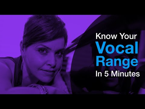 What is my Vocal Range? - Get the Results in Just 5 mins!