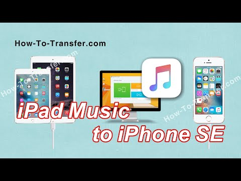 How to Transfer Music from iPad (Pro/Mini/Air) to iPhone SE without iTunes