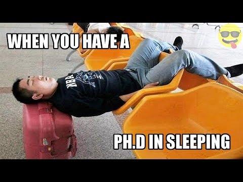 People Who Can Literally Sleep Anywhere