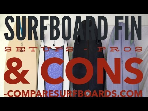 Surfboard Fin Setups Pros & Cons-Single Twin Thruster Quad-no.92 | Compare Surfboards