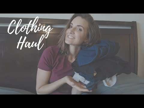SECOND HAND THRIFT STORE CLOTHING HAUL WINTER 2017
