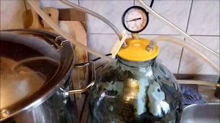 Простая конструкция для вакуумной дистилляции, ручной насос для вакуума, китайский вакуумметр.