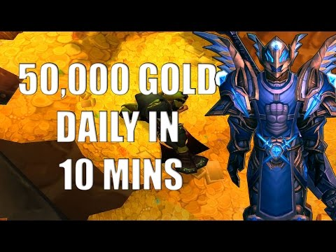 Wow Gold Guide - Make 50,000 Gold Per Hour - No Professions - Patch 6.0.3