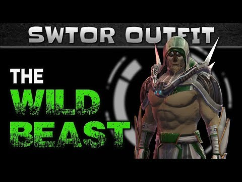 A SWTOR Character Outfit suitable for a WILD BEAST