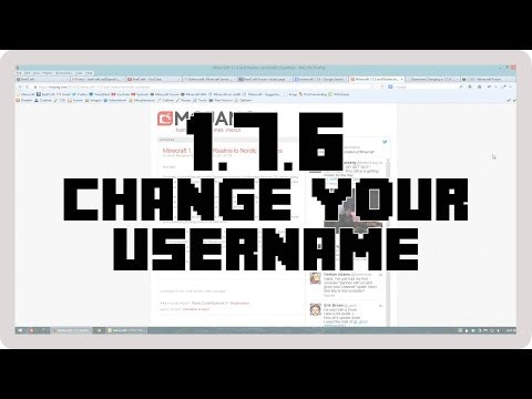 Minecraft: 1.7.5-1.7.6 and Name Change Support