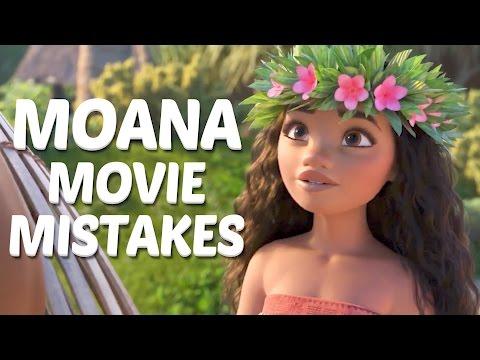 10 Biggest Disney Moana MOVIE MISTAKES You Didn't Notice - Moana Movie