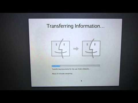 MacBook Pro with Retina display USB 3.0 Time Machine Restore