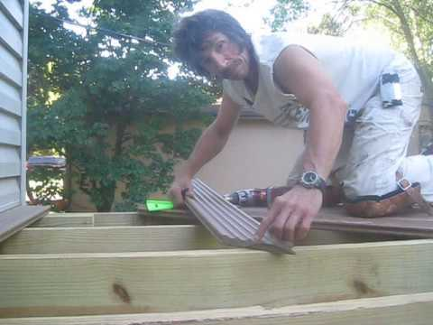UltraDeck Installation when Screwing Down Your Decking