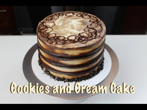 Easy Cookies and Cream Cake | CHELSWEETS