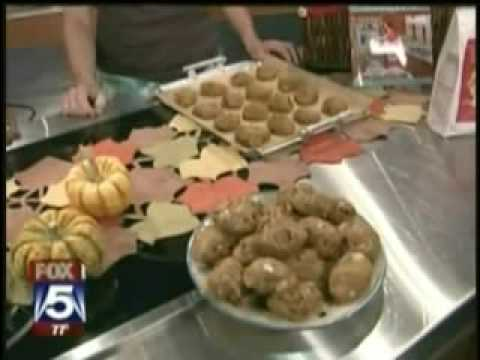 Jules Shepard Gluten Free Pumpkin Cookies Demo