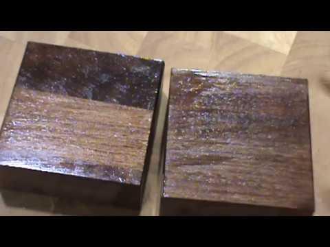 dark walnut countertop