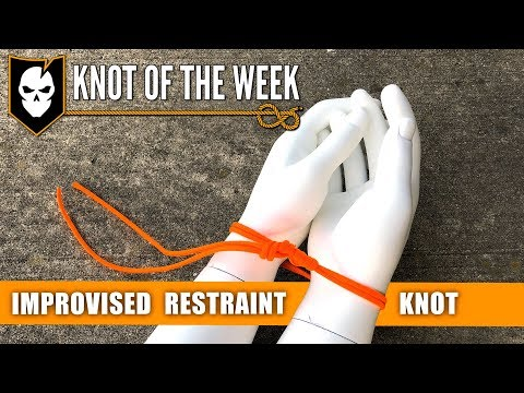 Use the Improvised Restraint Knot to Quickly Subdue Foes - Knot of the Week HD