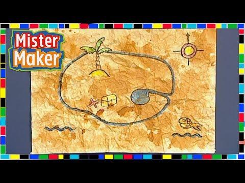 Buried Treasure Map | Mister Maker