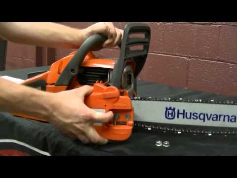 How to Remove a Chainsaw Clutch Cover and Reset the Chain Brake