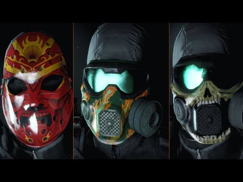 GLOBAL EVENT ONSLAUGHT | FAST WAY TO UNLOCK ALL MASKS | THE DIVISION 1.8.1