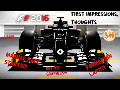 F1 2016 Thoughts & Impressions (Review)