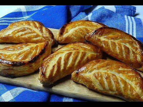 Apple Pastry - Applesauce Pie - Apfeltaschen - Recipe