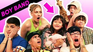 Download I Tried Babysitting With A Boy Band Feat. PRETTYMUCH Video
