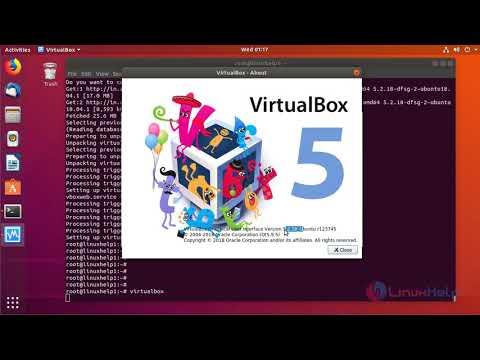 How to install Oracle  VirutualBox  on ubuntu 18.04