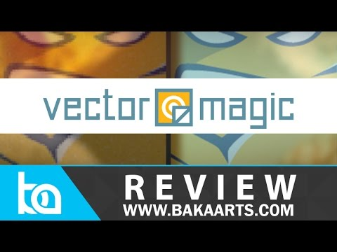 Vector Magic Desktop Edition Review | Bitmap to Vector Conversion Software