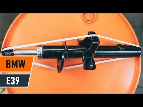 How to replace front shock absorbers BMW 5 E39 TUTORIAL | AUTODOC