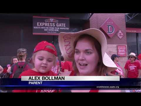 Families show Red for Ed support | Cronkite News