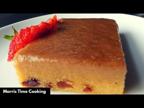 How To Make Jamaican Cornmeal Pudding  | Lesson #32 | Morris Time Cooking