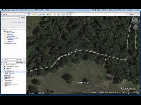 Exploring the Rose Woods in Gettysburg with Google Earth