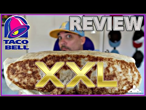 TACO BELL® | XXL GRILLED STUFT BURRITO REVIEW | THEENDORSEMENT