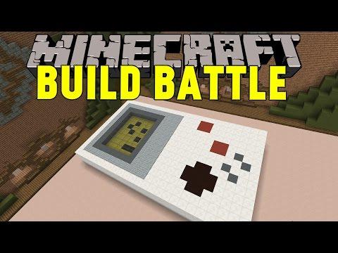 Minecraft | GAMEBOY | Team Build Battle Minigame på Svenska