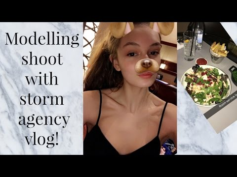 MODELLING SHOOT WITH STORM AGENCY VLOG! | India Grace