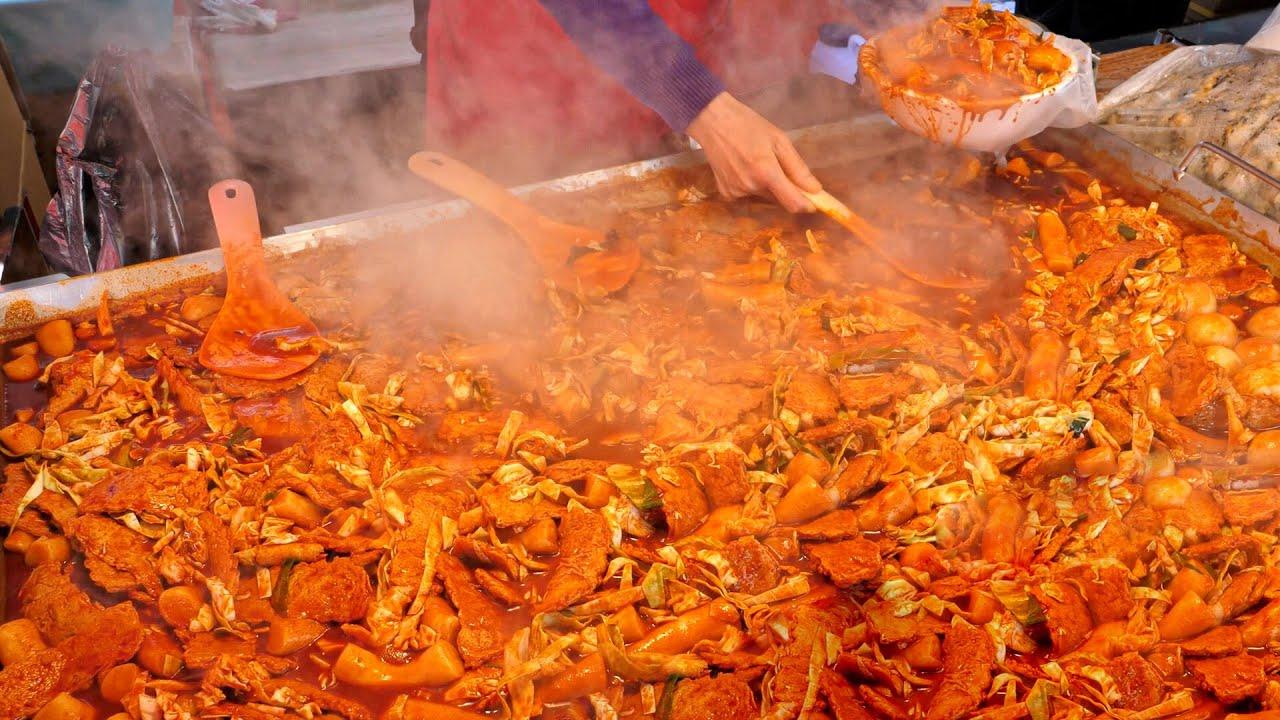 맛과 양으로 승부한다!! 믿을 수 없는 가성비 끝판왕 떡볶이 분식 길거리음식 Top10 / Top10 best food master / korean street food