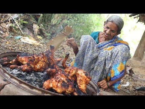 Roasted Chicken in Village Style || My Grandma's Chicken Recipe