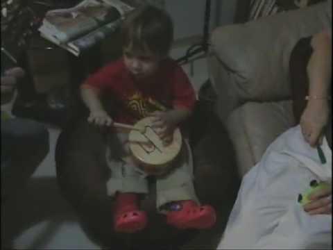 Josh Playing Drums