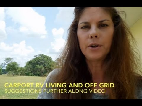 RV Carport Lessons Learned