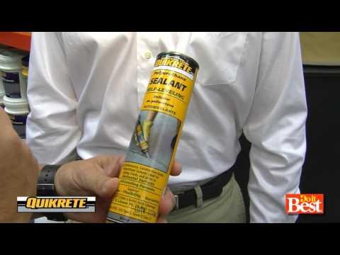 Quikrete® Self-leveling polyurethane concrete sealant at Do it Best®