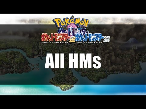Pokemon Gold Silver & Crystal | All HM Locations